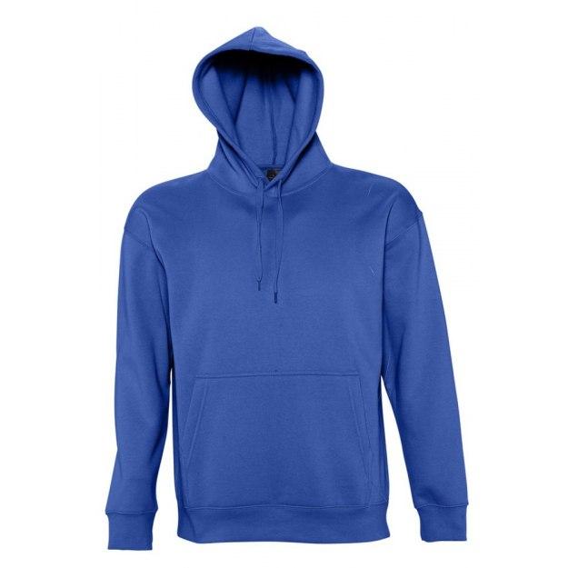 59fa1eaf Толстовка с капюшоном SLAM 320, ярко-синяя под нанесение логотипа